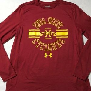 Under Armour Iowa State Cyclones Shirt Long Sleeve